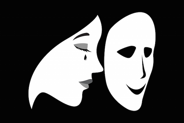 Image result for meaningful image people wearing masks
