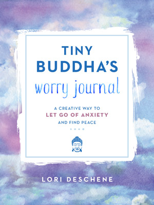 Tiny Buddha's Worry Journal Cover
