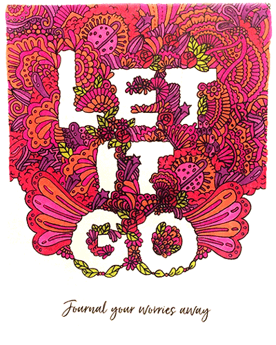 Tiny Buddha's Worry Journal - Let it Go page