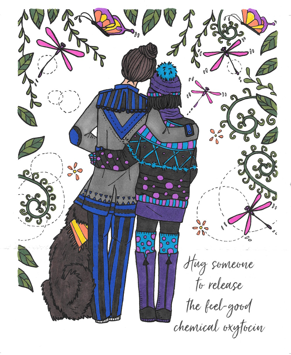 Ladybug hug Coloring Page - Free ladybugs Coloring Pages ... | 1218x1000