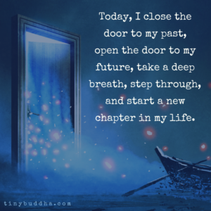 Today, I Start a New Chapter in My Life