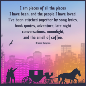 I Am Pieces of All the Places I Have Been