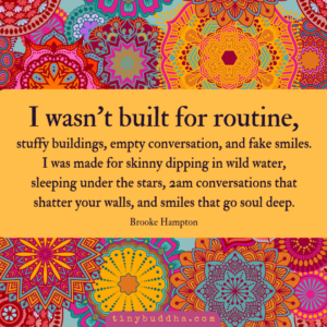I Wasn't Built for Routine