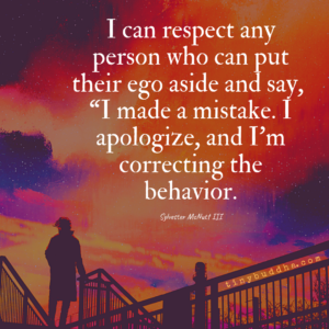 I Can Respect Anyone Who...