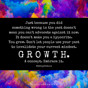 Growth. A Concept. Embrace It.