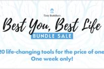 Tiny Buddha Bundle Sale logo