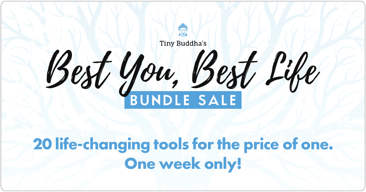 Tiny Buddha Bundle Sale logo