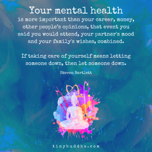 Your Mental Health Is More Important