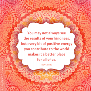 Every Bit of Positive Energy
