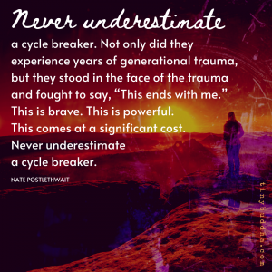 Never Underestimate a Cycle Breaker