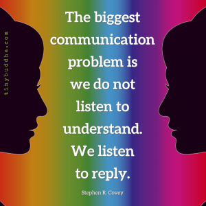 The Biggest Communication Problem