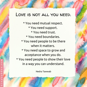 Love Is Not All You Need