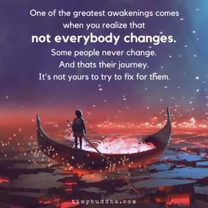 Not Everyone Changes
