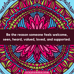 Be the Reason Someone Feels Loved