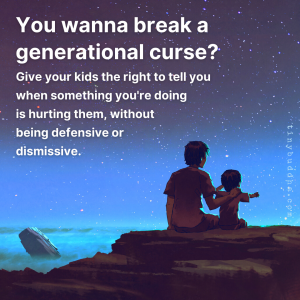 Wanna Break a Generational Curse?