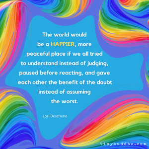 The World Would Be a Happier, More Peaceful Place If...