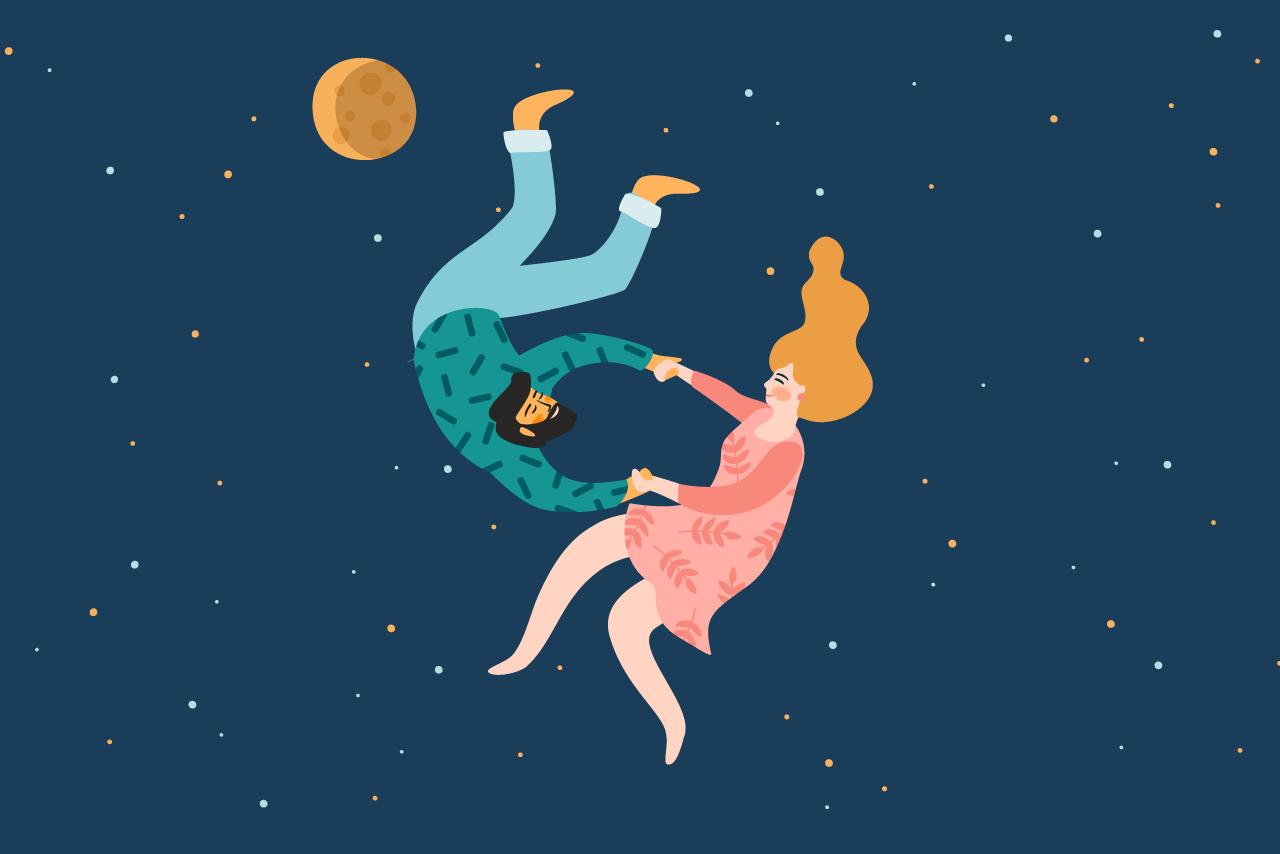Starry couple