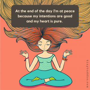 At the End of the Day, I'm at Peace