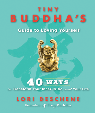 Tiny Buddha's Guide to Loving Yourself book cover